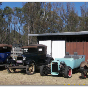 '28, '30, '32, '29 Fords