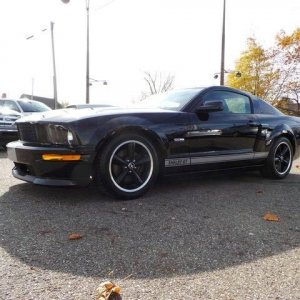 2007 mustang SGT, Manual transmission