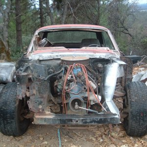 1967 Coupe 65A Project start
