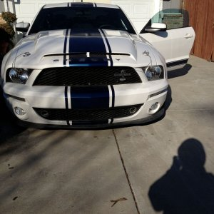 2008 GT500 transformed into a Super Snake