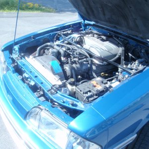 1988 Mustang GT 302 engine bay