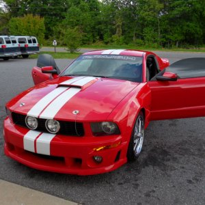 2008 Roush Stage 2 Mustang