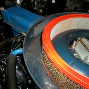 1968 Mustang 289-2V air cleaner