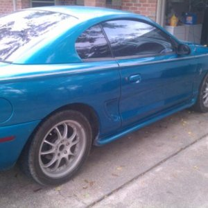 1995 Mustang Project
