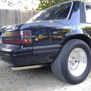 1984 ford mustang lx coupe
