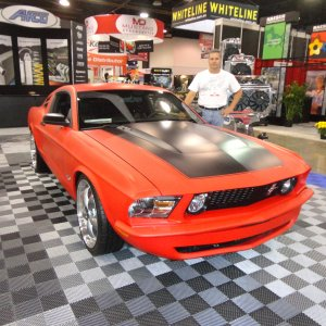 "2011 custom built Mustang GT  ""REVERSION"""