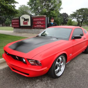 2011 custom built Mustang GT  REVERSION