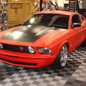 REVERSION Mustang   (built from a 2011 to look RETRO)