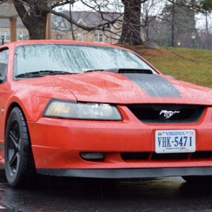 2003 MUSTANG MACH1 TORCH RED