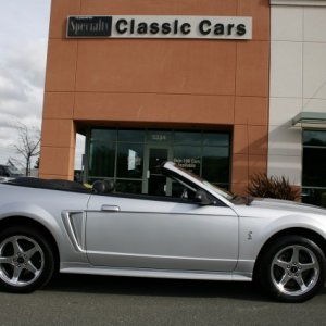 2001 Ford Mustang SVT Cobra Convertible