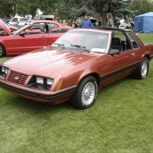 1983 Ford Mustang T-top Coupe