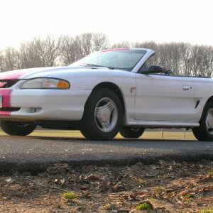 1997 Ford Mustang V6 Convertible
