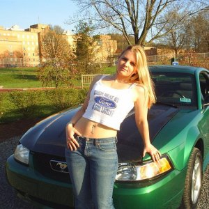 Me with my Mustang