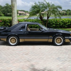 1986 Ford Mustang SALEEN  #139
