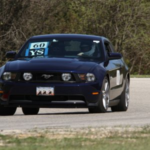 2012 Ford Mustang GT - Road Race Track - Blackhawk Farms
