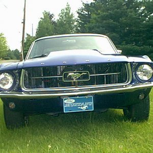 1967 Mustang & other stuff.