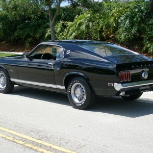 1969 Ford Mustang 428 GT Fastback SCJ  Drag Pack