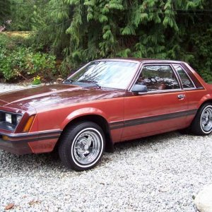 1981 Mustang Coupe