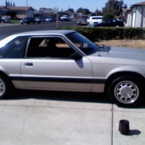 1990 mustang lx
