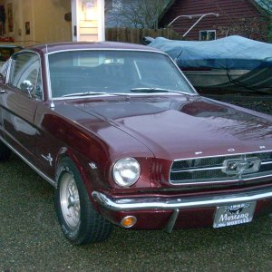 my new 65 fastback2+2