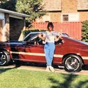 Me and my 1969 Mach 1