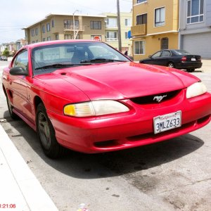 95 Rio Red Coupe