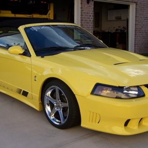 2003 Ford Mustang Saleen Convertible #376