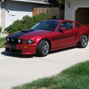 2007 Mustang GT/CS with Eibach Pro Spring kit Installed