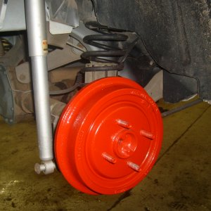 Brake Drums and KYB shocks