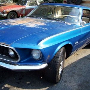 1969 Luxury Edition Mustang Coupe v8 Windsor 302