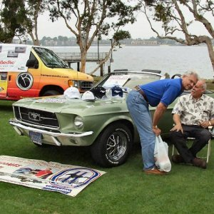 Mustangs at the Bay Show