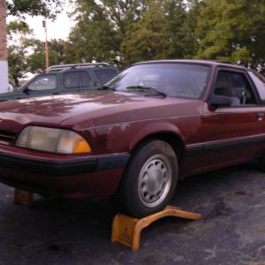 1989 Ford Mustang LX 2.3