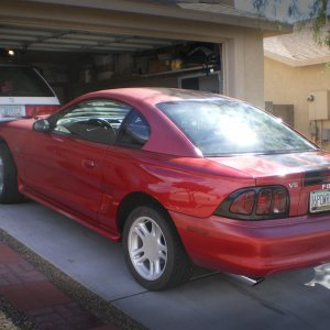 1997 Ford Mustang V6 Coupe
