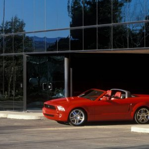 S197 Mustang Convertible Concept