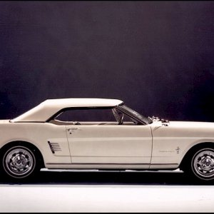 Early Mustang Convertible Concept