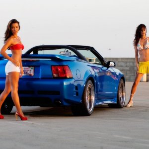 Sexy Babes And Blue GT