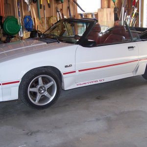 1987 Mustang GT Convertible Project