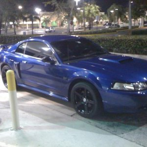 My mustang 2003 gt sonic blue