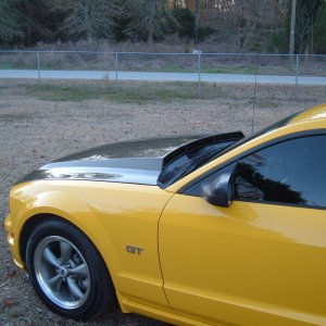 2005 Screaming Yellow Mustang GT