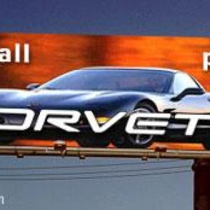 Perfect billboard for the corvette. Laughed for hours!!!