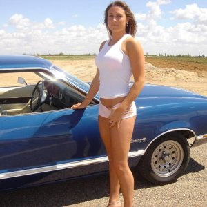 Hot Mustang II Babe