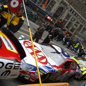 MARK MARTIN'S CAR IN NYC